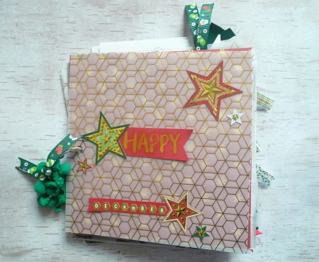 Docrafts – Happy December mini album tutorial