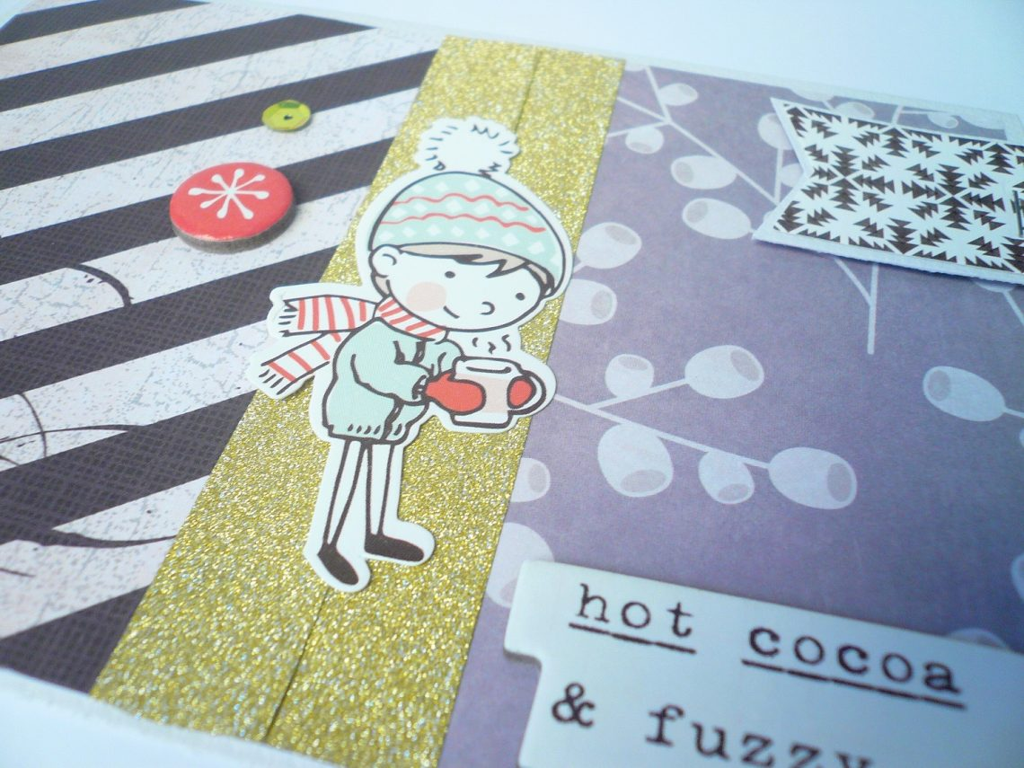 Crea il tuo Kit con Angela & Giorgia – second project with December kit
