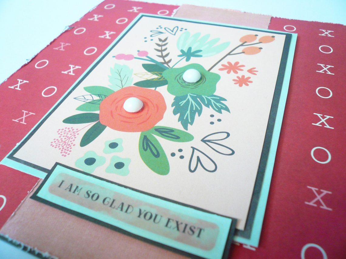 Crea il tuo Kit con Angela & Giorgia – card with January kit