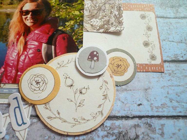 Docrafts – layout with Wilson Wood collection tutorial