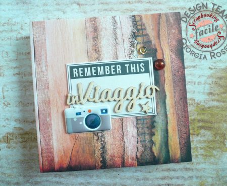 Scrapbooking Facile – mini album in viaggio