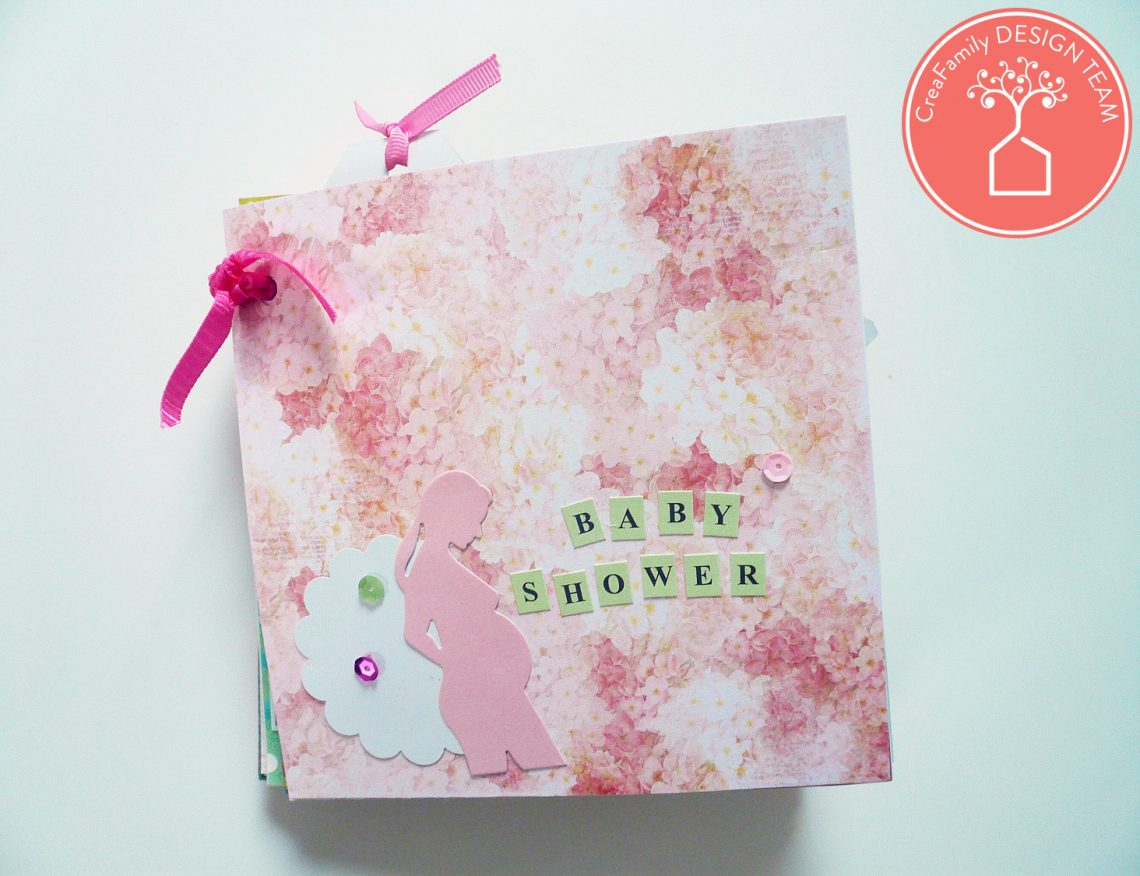 CreaFamily – tutorial mini album gravidanza