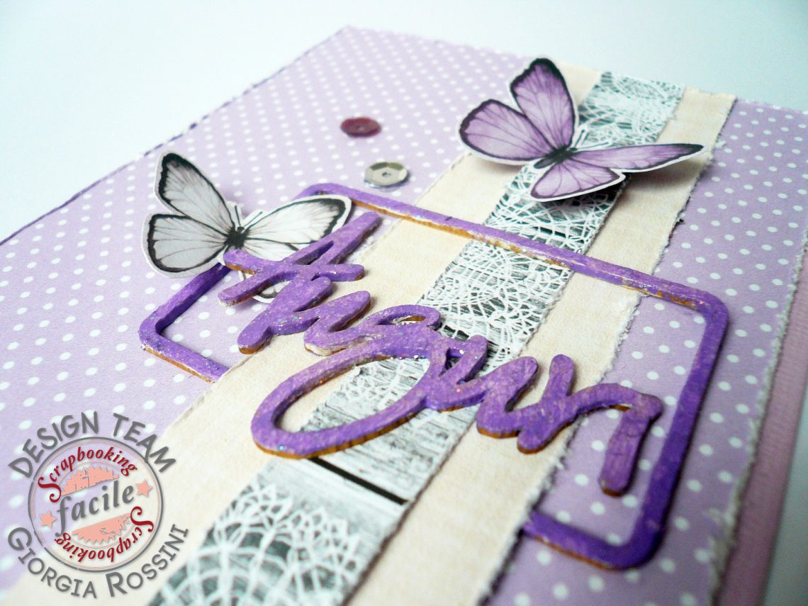 Scrapbooking Facile – card nei toni pastello