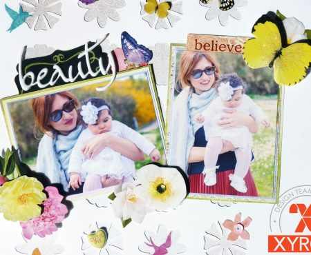 Xyron & Paper House – layout tutorial