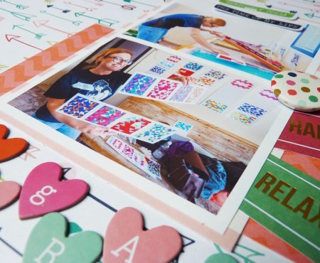 Crea il tuo Kit con Angela & Giorgia – layout with May kit