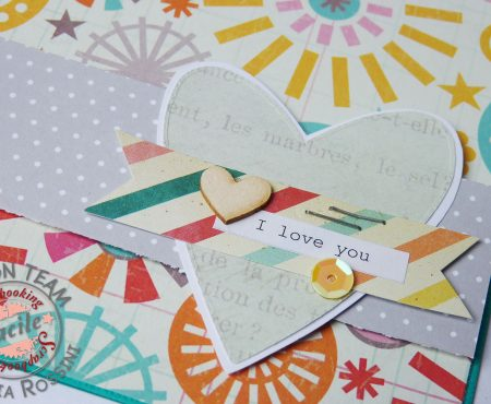 Scrapbooking Facile – cards with DIY embellishments