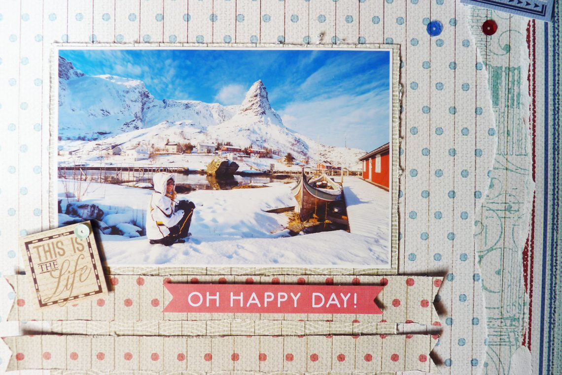 Oh happy day layout