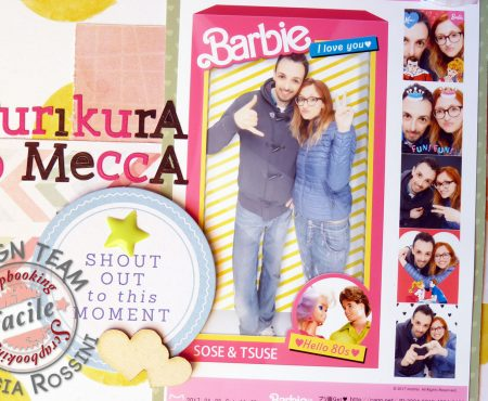 Scrapbooking Facile – Purikura no mecca layout