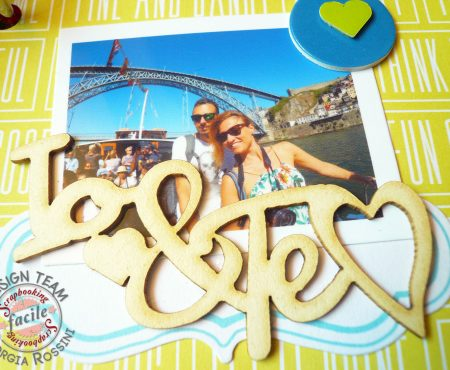 Scrapbooking Facile – mini album with Project Life cards