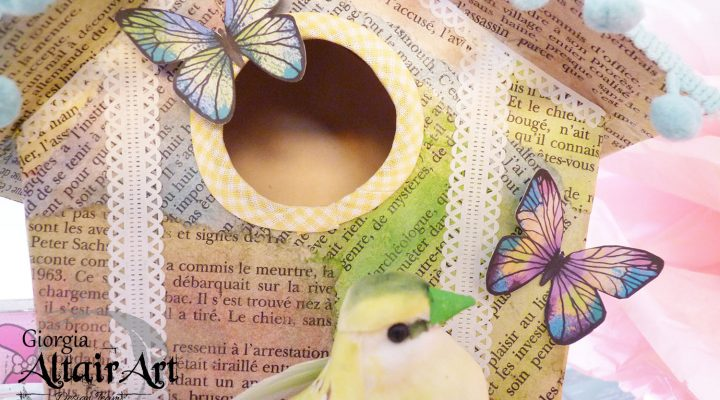 AltairArt – home decor: bird house DIY
