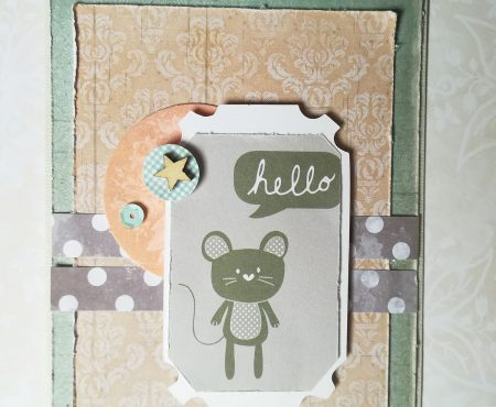Crea il tuo Kit con Angela & Giorgia – card with October kit for World Cardmaking Day