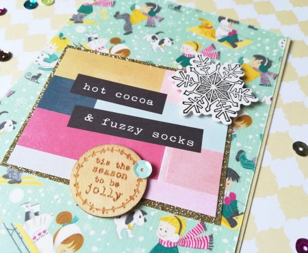 Crea il tuo Kit con Angela & Giorgia – December mood board, my kit and first project