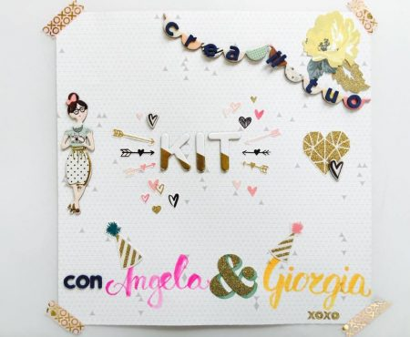 Crea il tuo Kit con Angela & Giorgia – January mood board and my kit