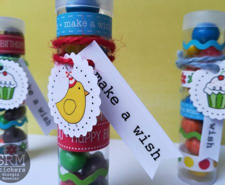 SRM stickers – birthday gifts with tubes