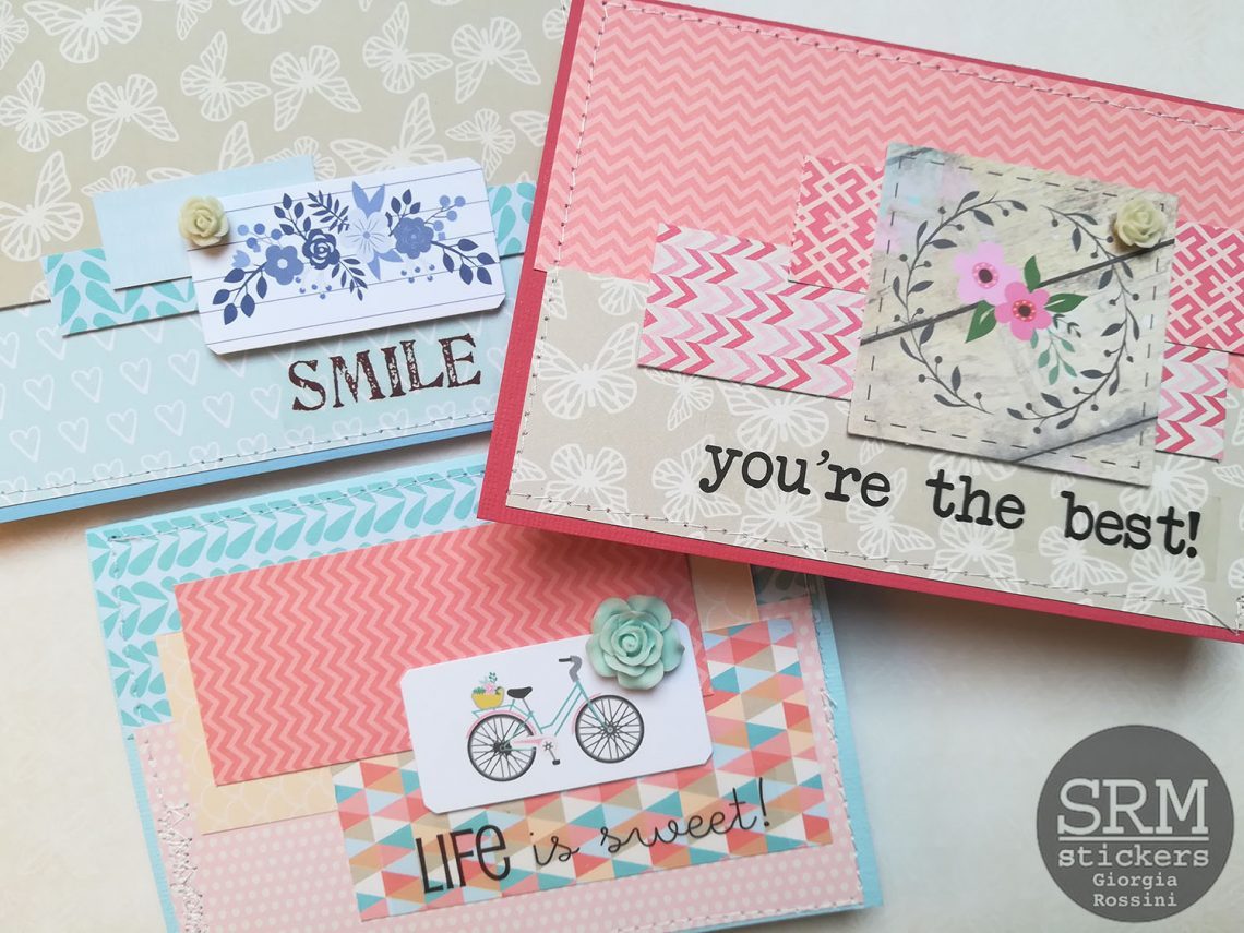 SRM stickers – Spring cards set