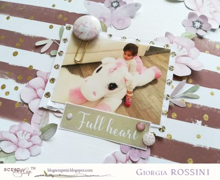 ScrapMir – layout with Unicorns collection