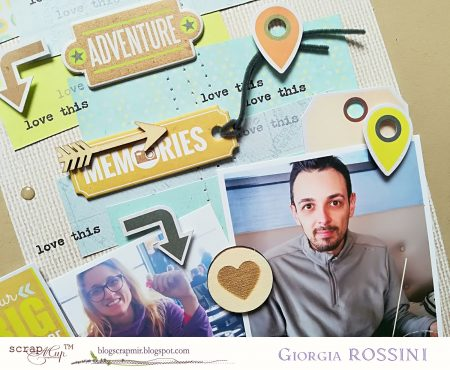 ScrapMir – travel themed layout