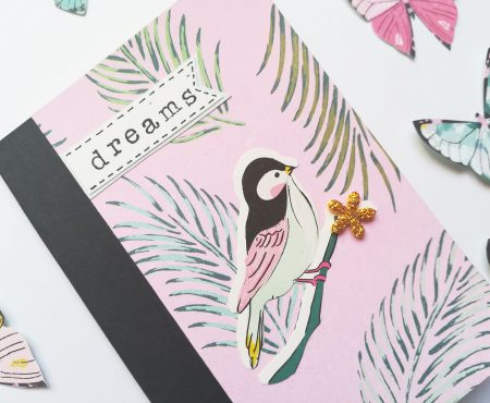 Crea il tuo Kit con Angela & Giorgia – another altered notebook with May kit