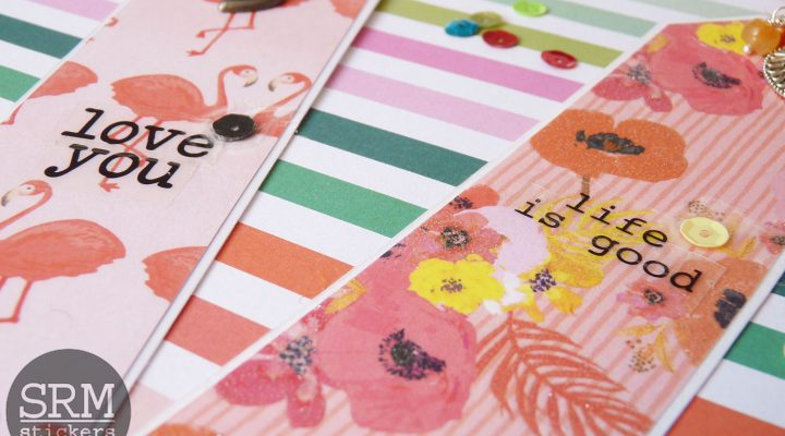 SRM Stickers – handmade bookmarks and gift bags