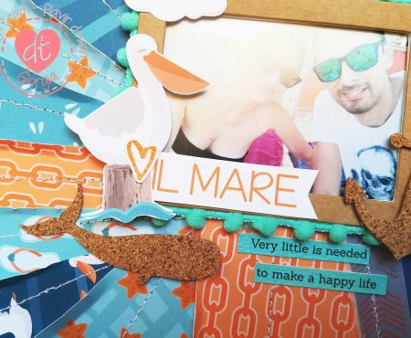 Flavir Design – ❤ il mare layout tutorial