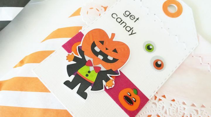 Crea il tuo Kit con Angela & Giorgia – Halloween treat bags with October kit