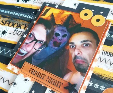 Crea il tuo Kit con Angela & Giorgia – Halloween layout with October kit