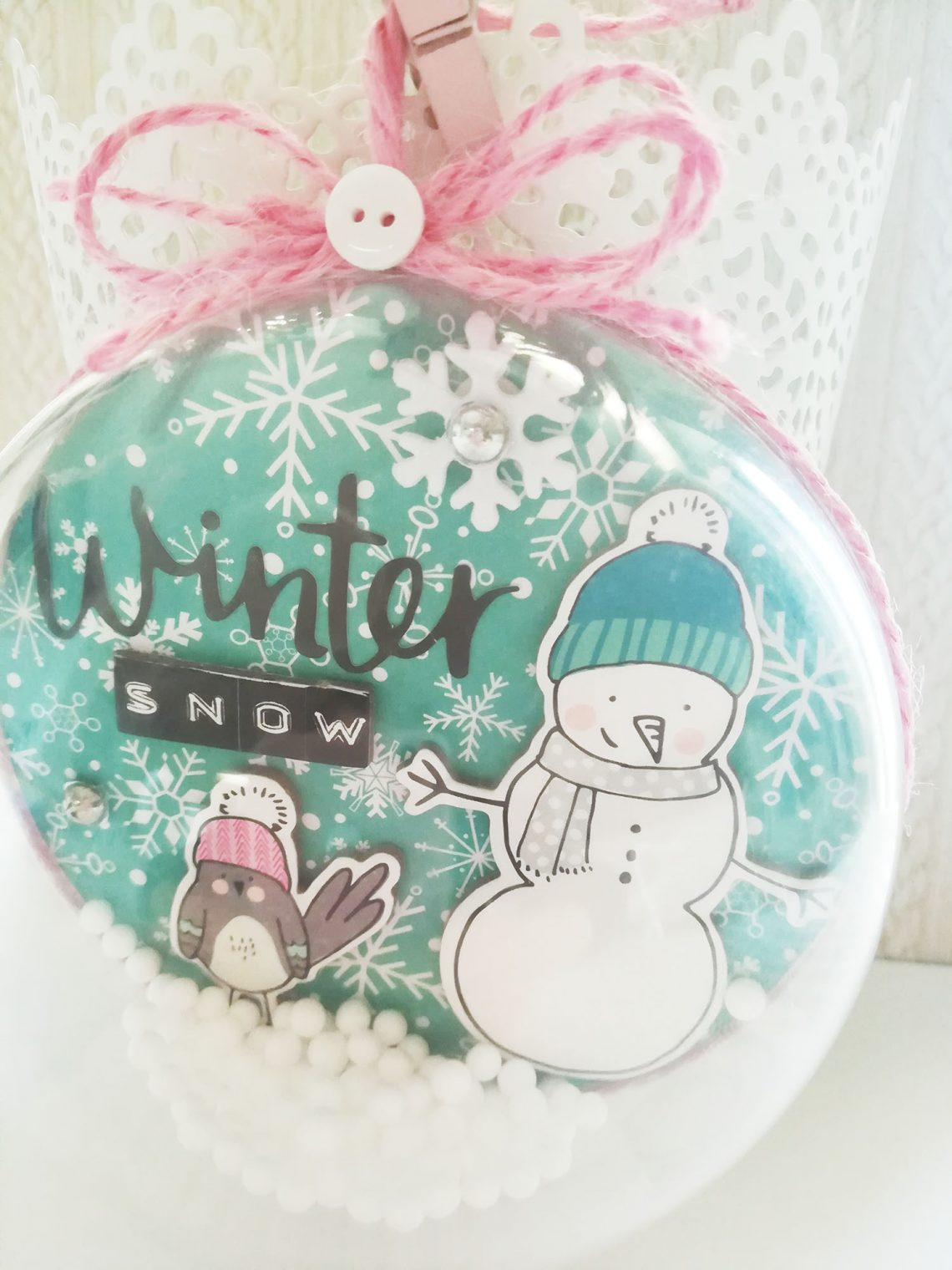 Crea il tuo Kit con Angela & Giorgia – Christmas ornament with December kit