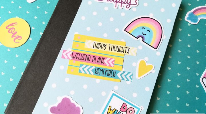 Lollipop Box Club – altered notebook and its cute packaging