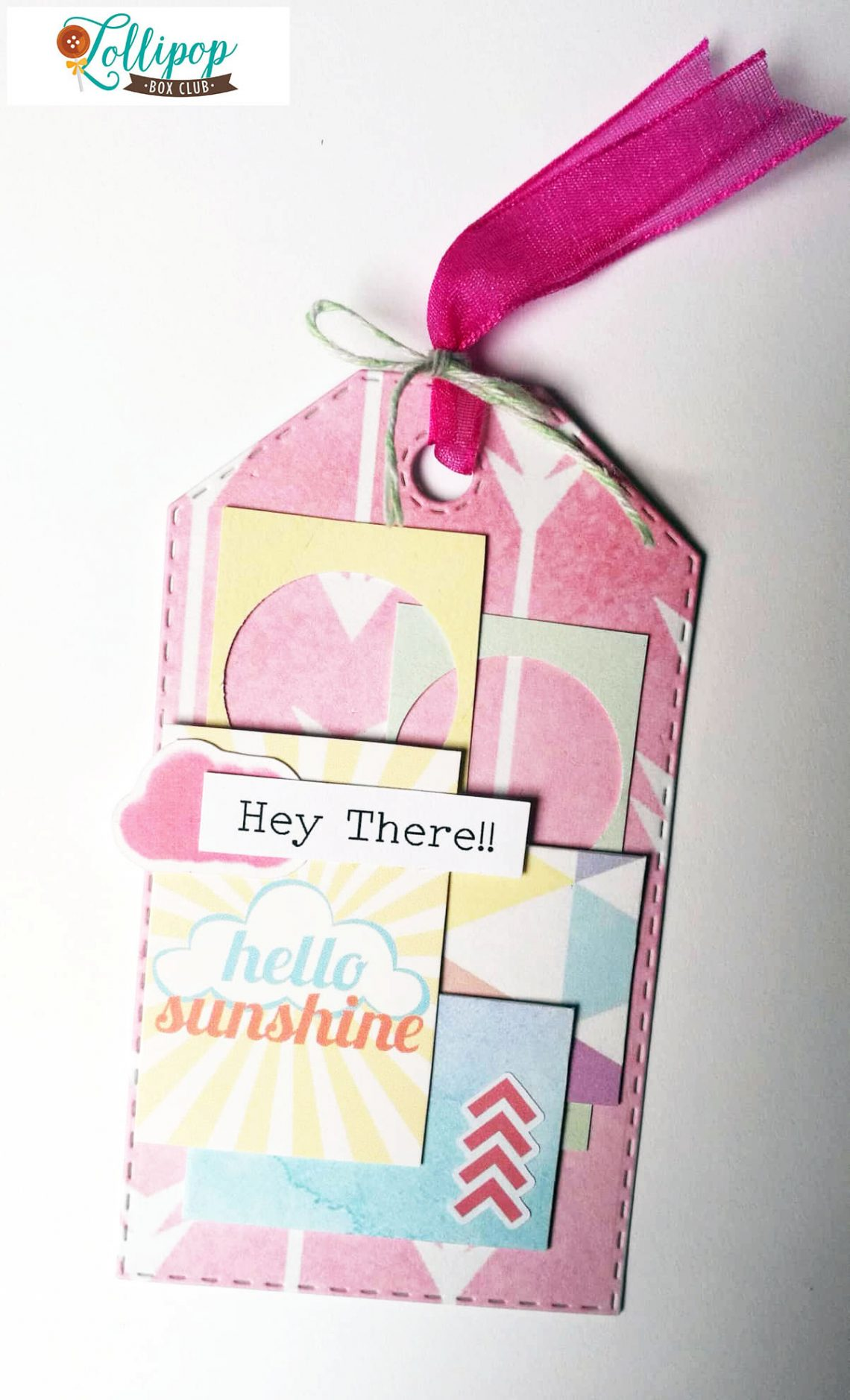 Lollipop Box Club – a tag with past kits
