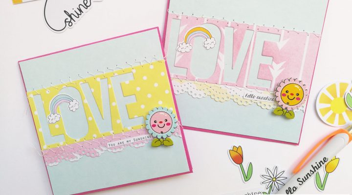 Lollipop Box Club – project with April kit