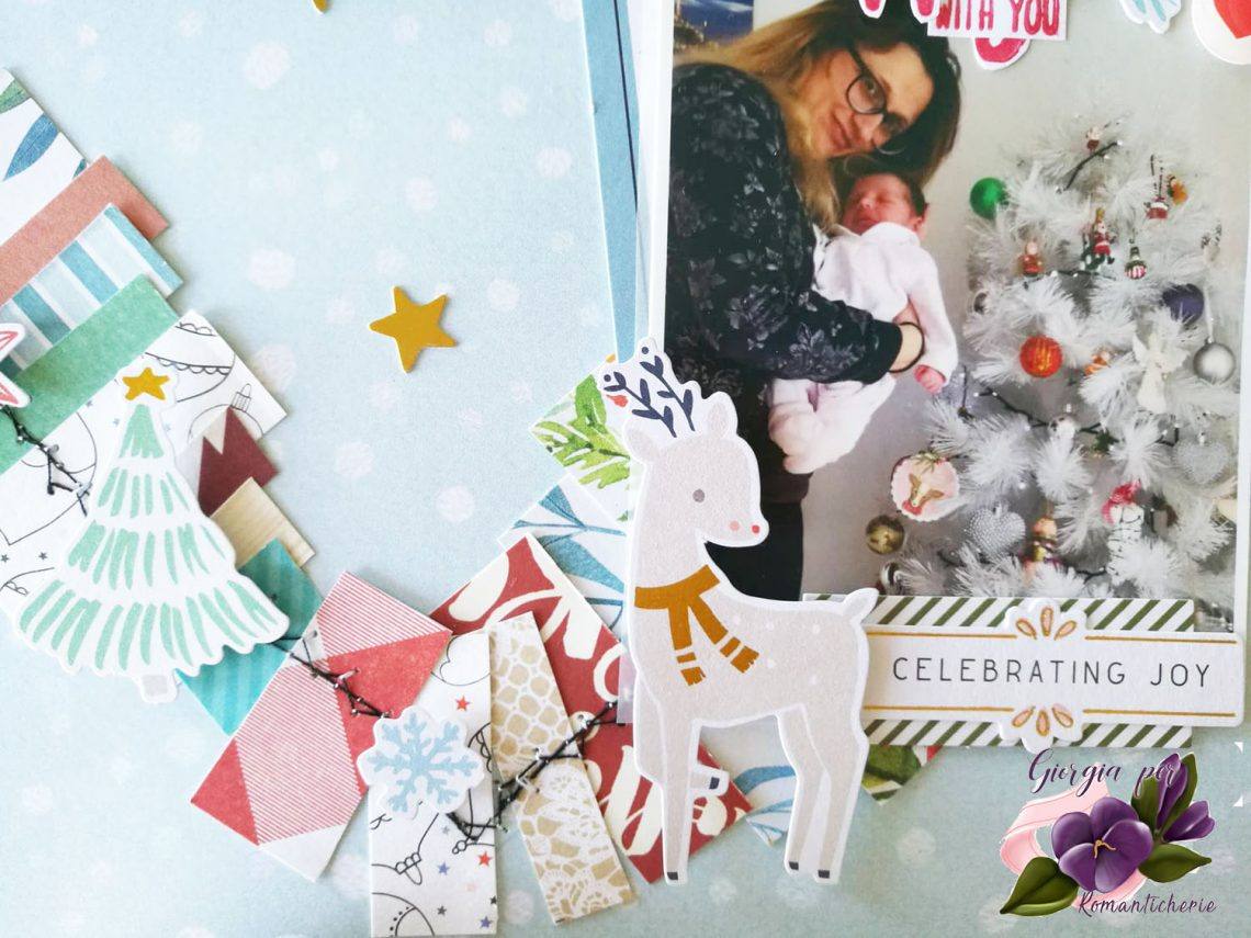 Romanticherie – Christmas layout tutorial