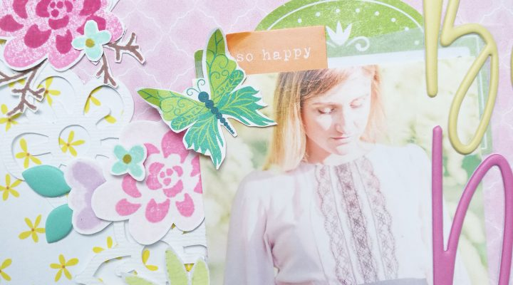 Scrap2Days – my take on Enza Gudor layout