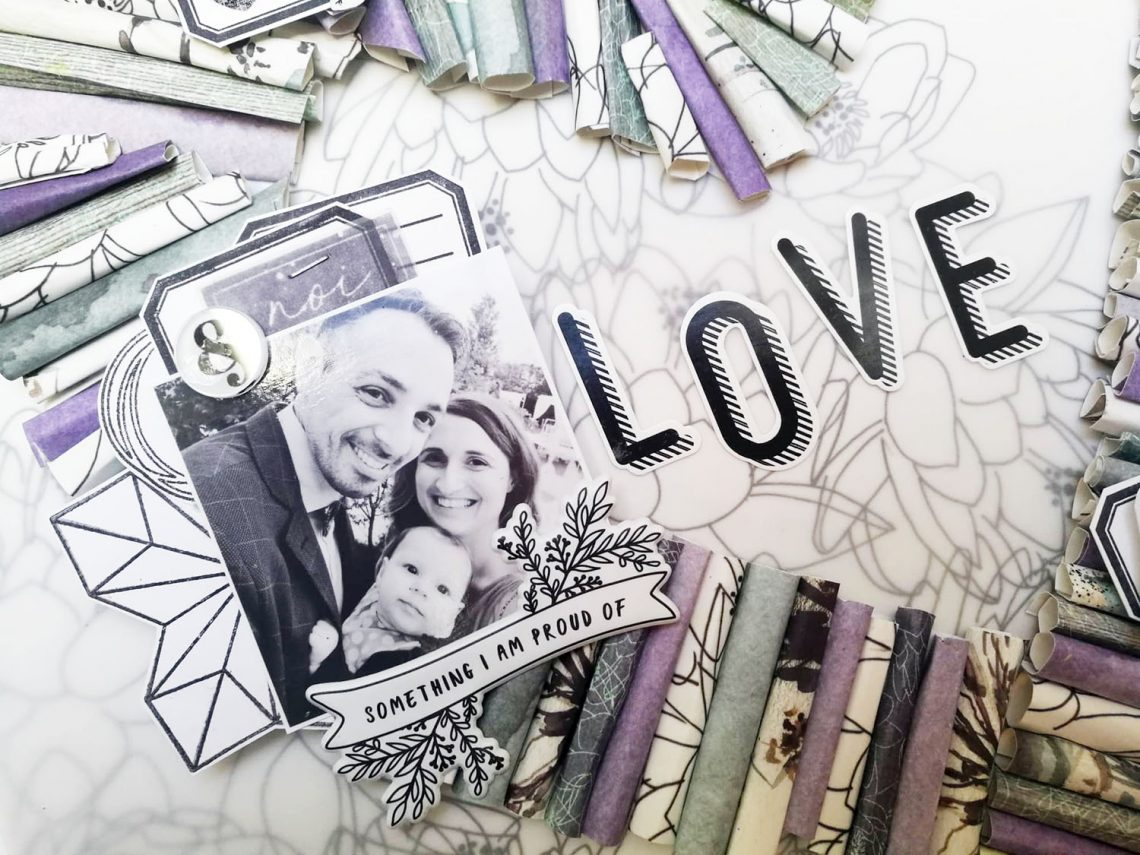 Romanticherie – Love layout tutorial