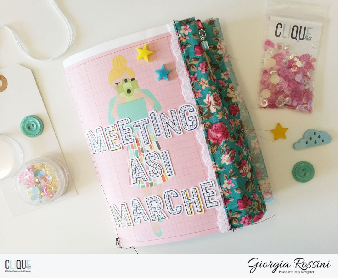 Clique Kits Passport Designer – meeting ASI mini album