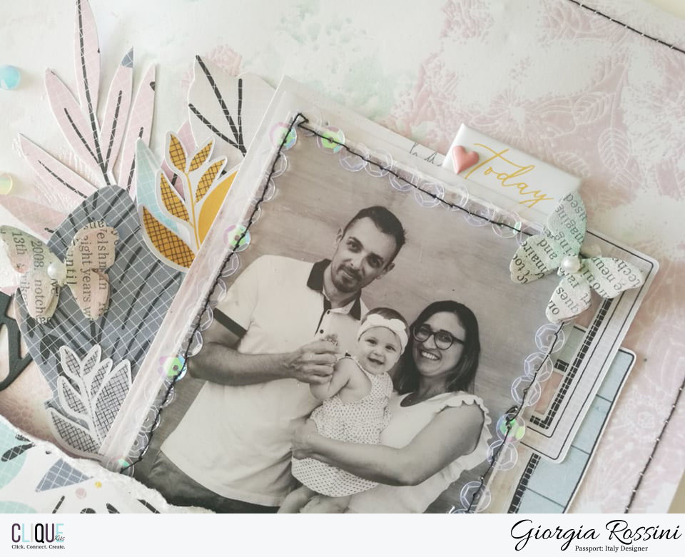 Clique Kits Passport Designer – we are family layout