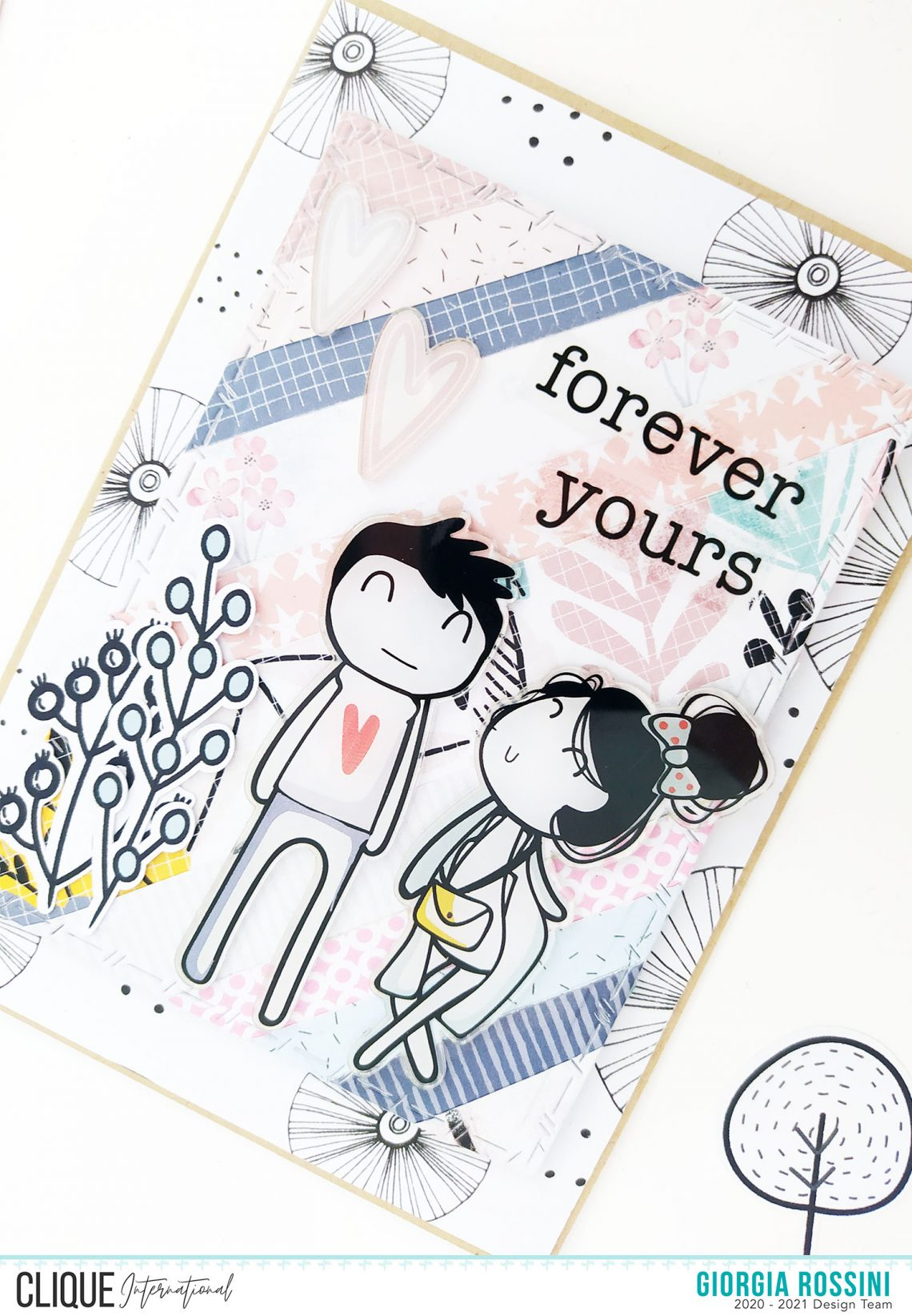 Clique International – card for your loved one