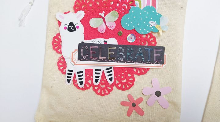 Clique International – decorated fabric bags