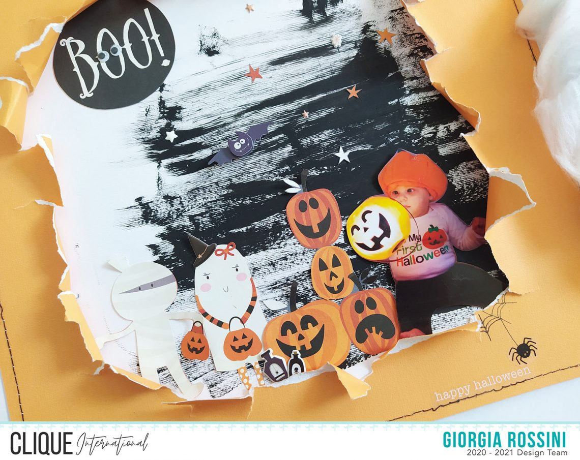 Clique International – BOO! layout