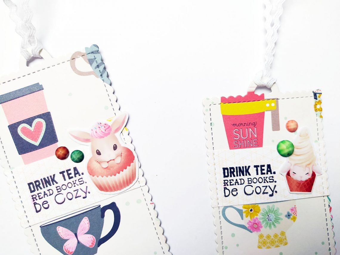 Bookmarks for tea lovers