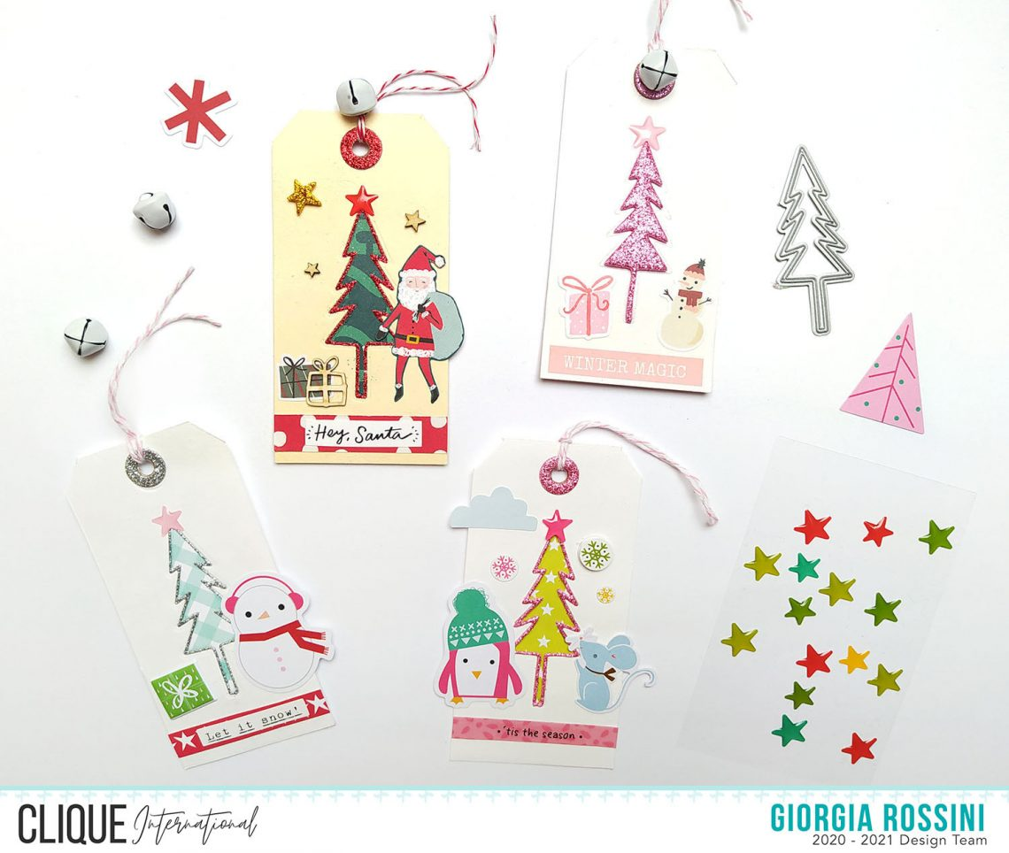 Clique International – Christmas tags