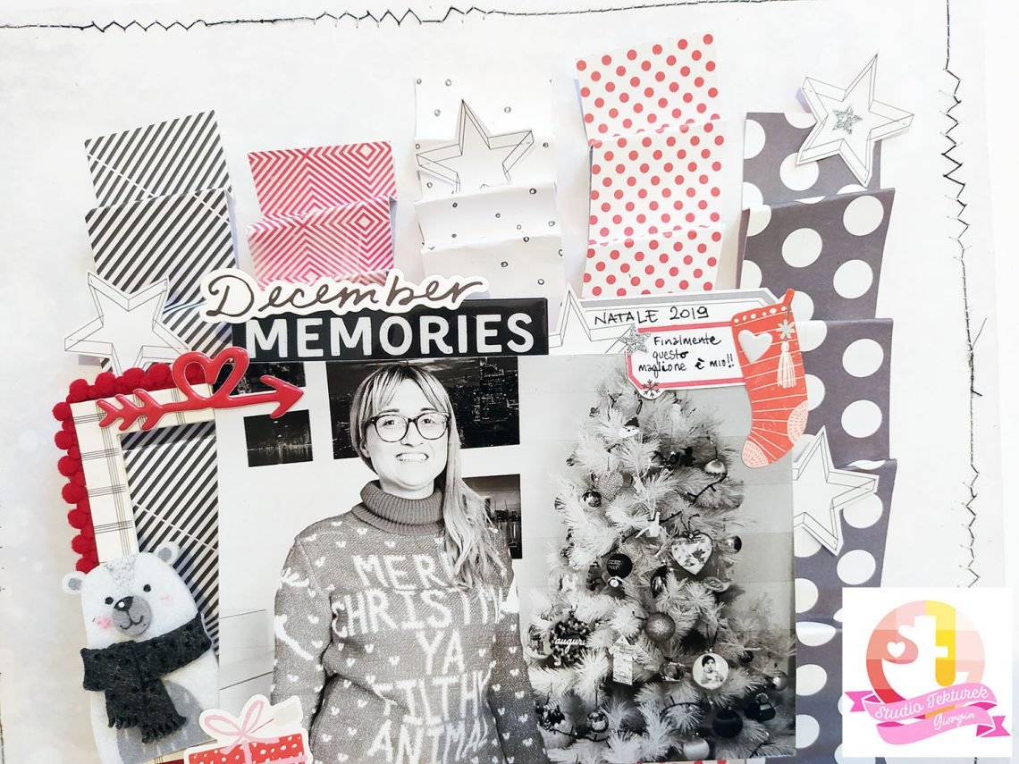 "Studio Tekturek – ""December memories"" layout"