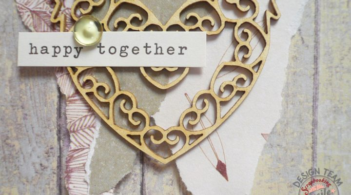 Scrapbooking Facile – layout shabby