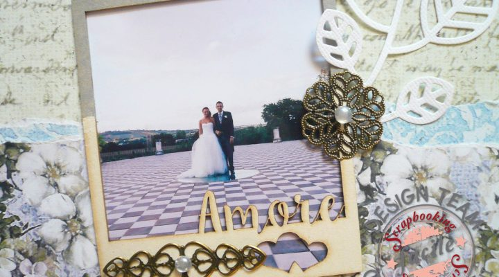Scrapbooking Facile – layout wedding