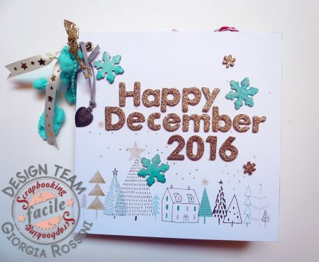 Scrapbooking Facile – mini album Happy December