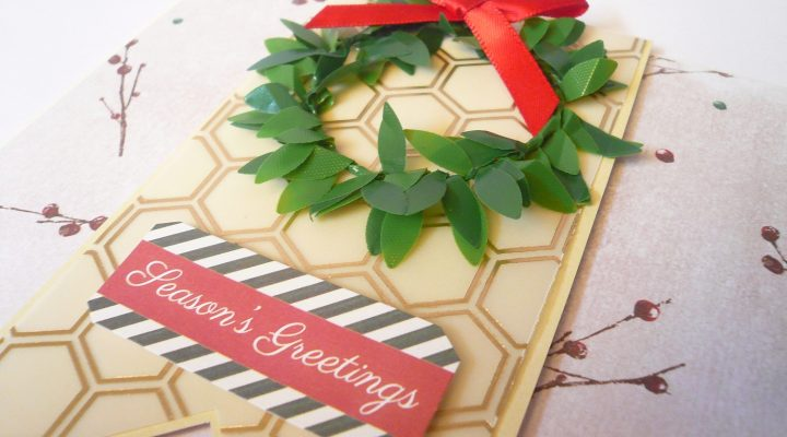 Christmas in July|Docrafts – quick Christmas cards tutorial