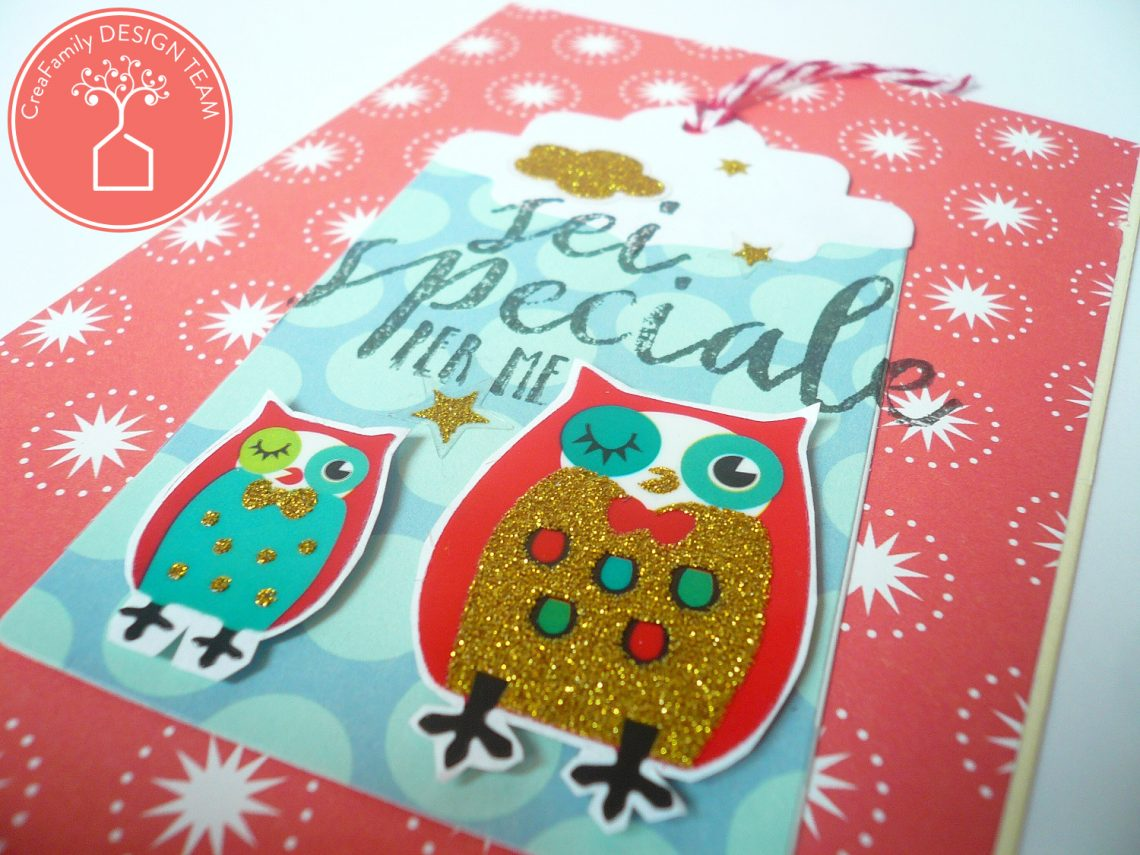 CreaFamily – tutorial card