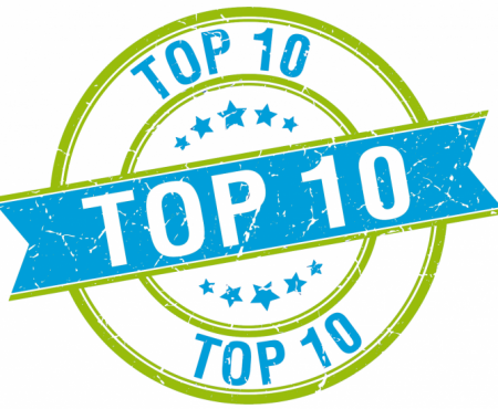 My 2018 TOP 10 PROJECTS – and a giveaway