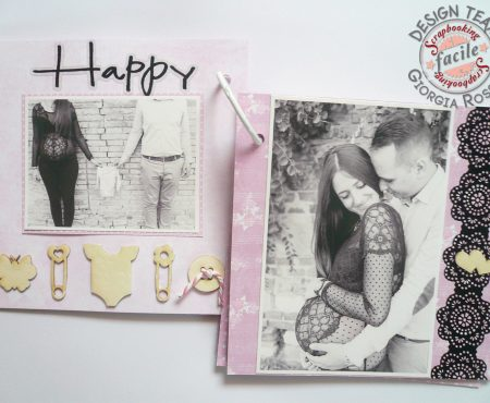 Scrapbooking Facile – mini album gravidanza