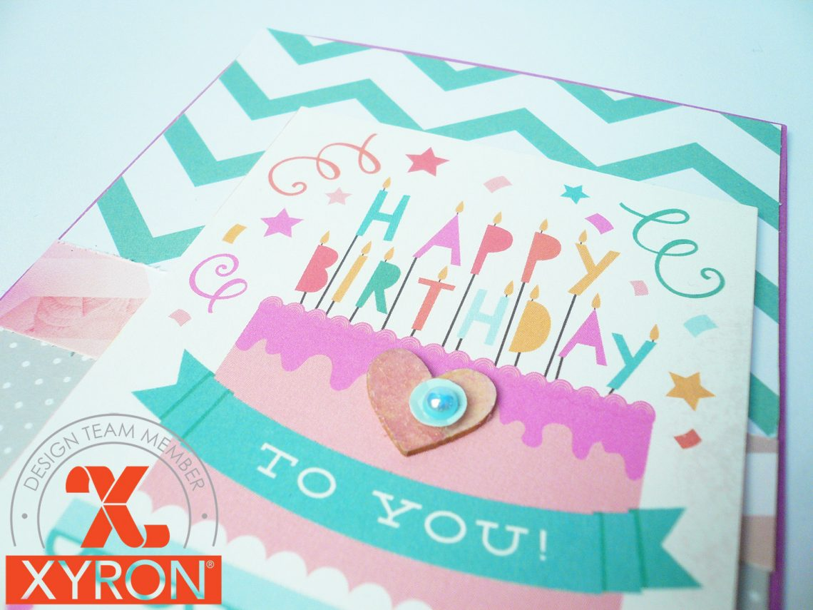 Xyron – cardmaking week