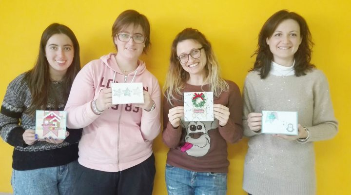 Christmas in July – Christmas cards class